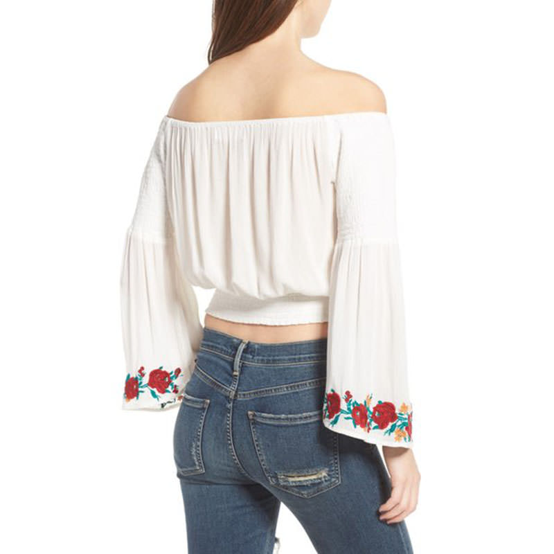 5c567a425a9fe8 Boho 20lace 20off 20shoulder 20shirt 20embroidery 20rose 20floral 20back  small