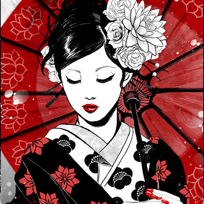 geisha japan collection ruby art store online store powered by