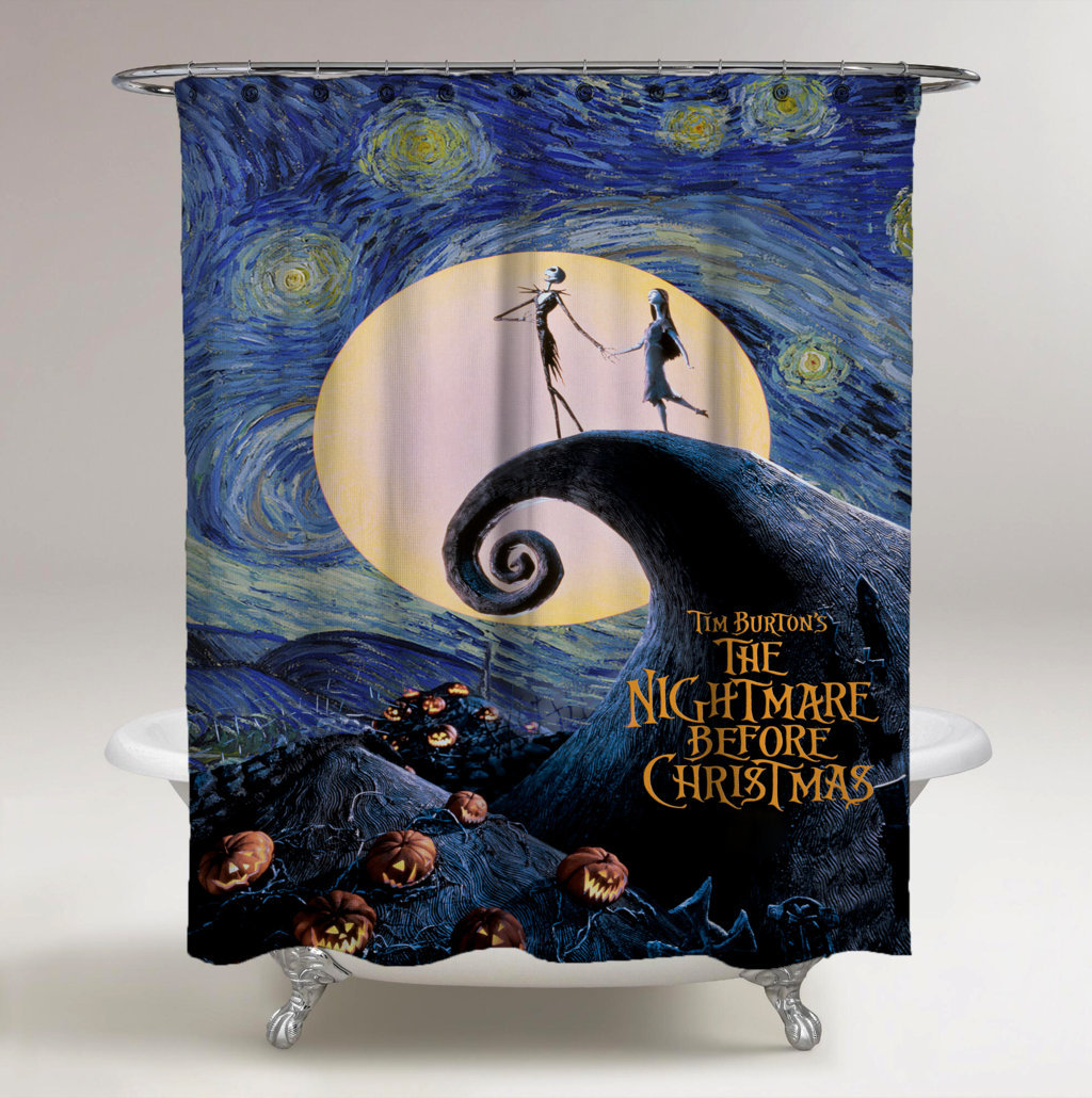 Nightmare Before Christmas Starry Night 20 Original