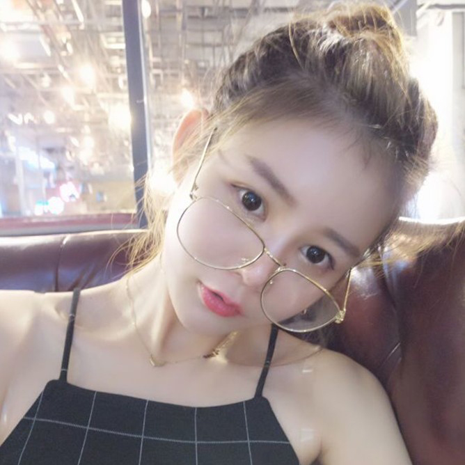 94df0ebc521 Emo Retro Great Circle Eyeglass Korean Trendy Glasses DC222 · The ...