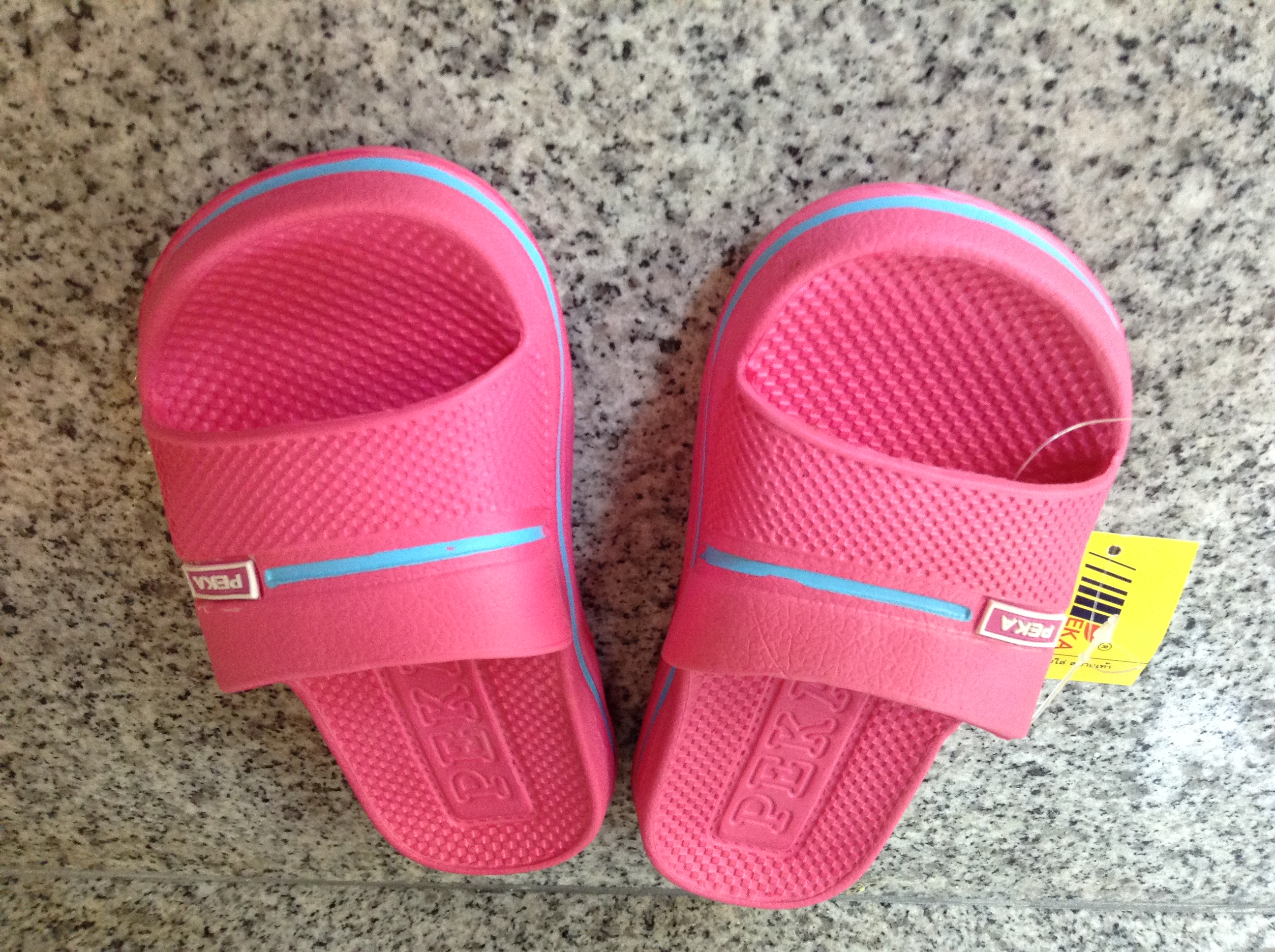 7c92d64e5254 PEKA Kids Flip Flops Sandals Pink Sandals Shoes