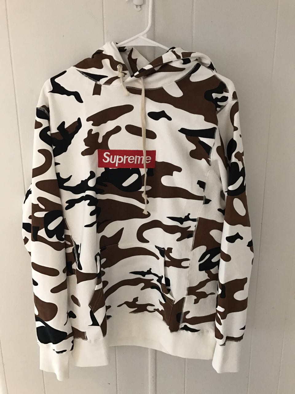 supreme box logo hoodie cow camo ua replica on storenvy. Black Bedroom Furniture Sets. Home Design Ideas