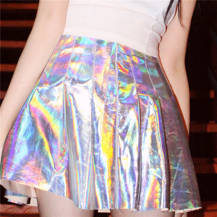 beccf6aa952 HOLOGRAPHIC PLEATED SKIRT · Storeunic · Online Store Powered by Storenvy
