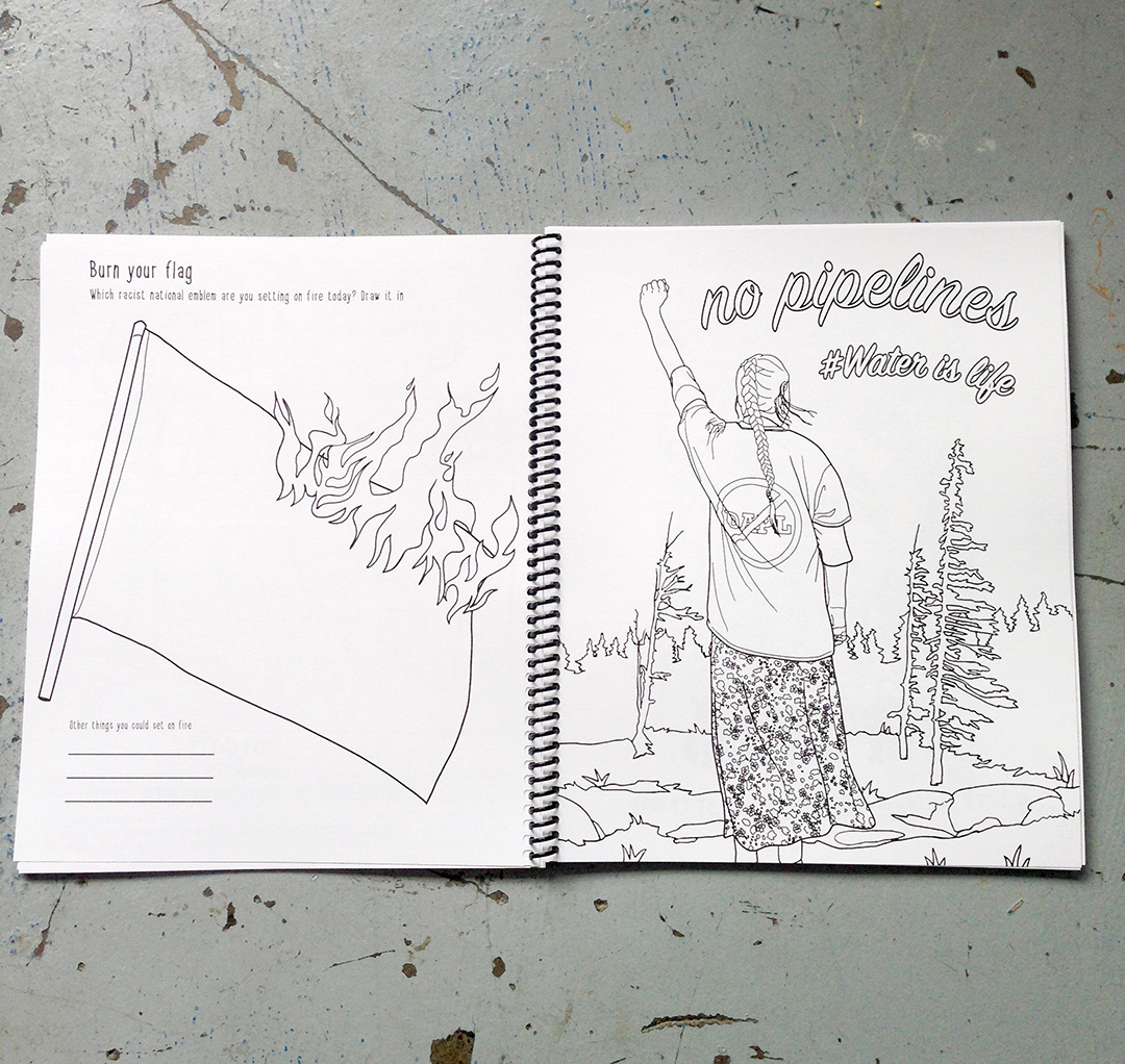 Radical Politics Colouring Book 2 from Stuffs by Zola