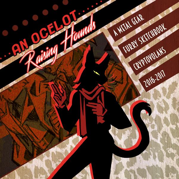 """""""An Ocelot Raising Hounds"""" MG Furry Sketchbook"""