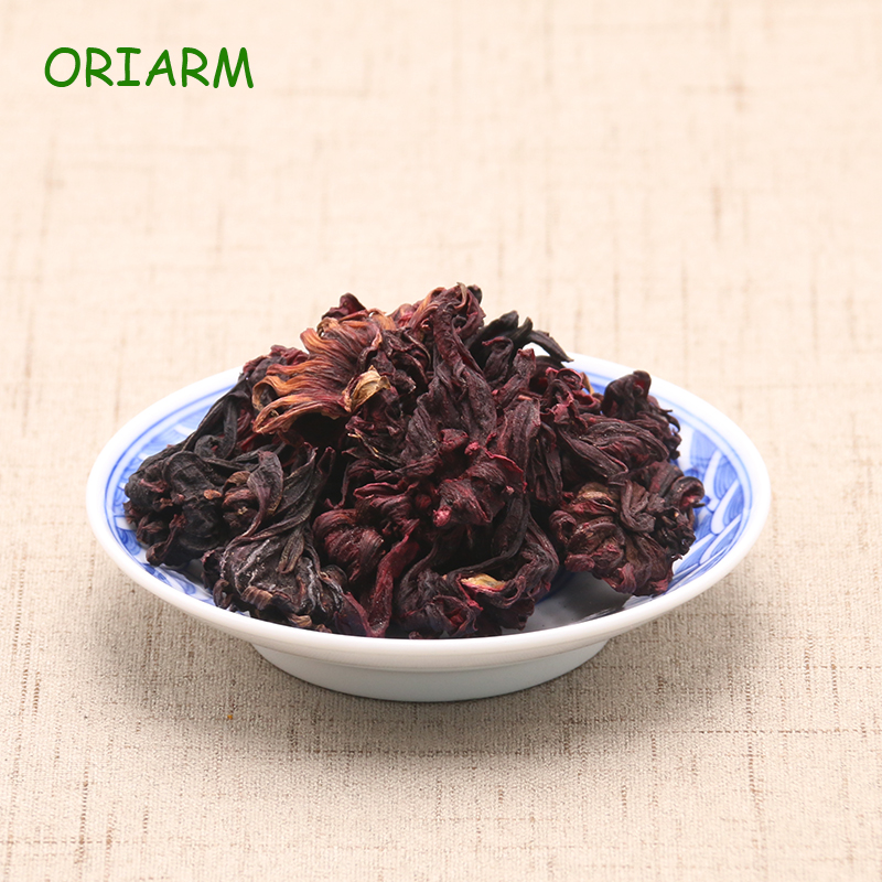 Chinese Hibiscus Flowers Tea Natural Weight Loss Roselle Flower Tea Health Green Food