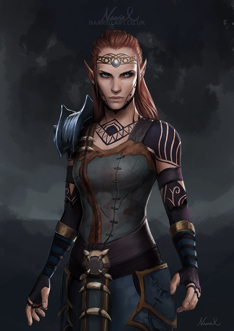 Image result for elf assassin