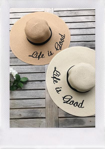cca29f63988 LIFE IS GOOD HAT- MORE COLORS