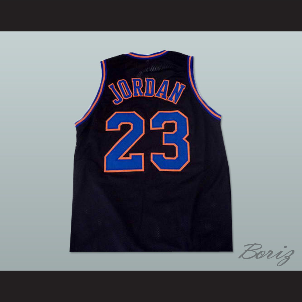 377478e9305 Michael Jordan Space Jam Tune Squad Basketball Jersey ALL SEWN New Custom -  Thumbnail ...