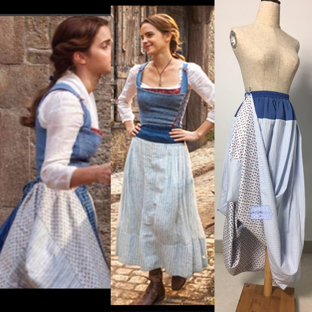 3771ea704394 S110 COSPLAY Beauty And Beast Princess Belle Costume Tailor Made 2017  Skiversion Rt Only - Thumbnail ... Sc 1 St Angel-secret - Storenvy