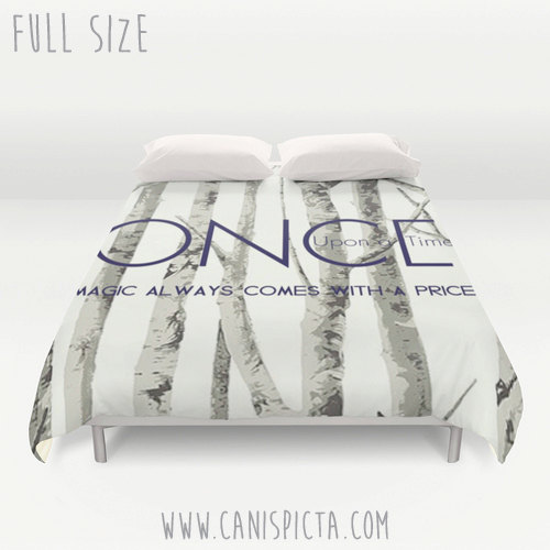 Once Upon A Time Duvet Cover Ouat Queen King Full Size Decor Magic