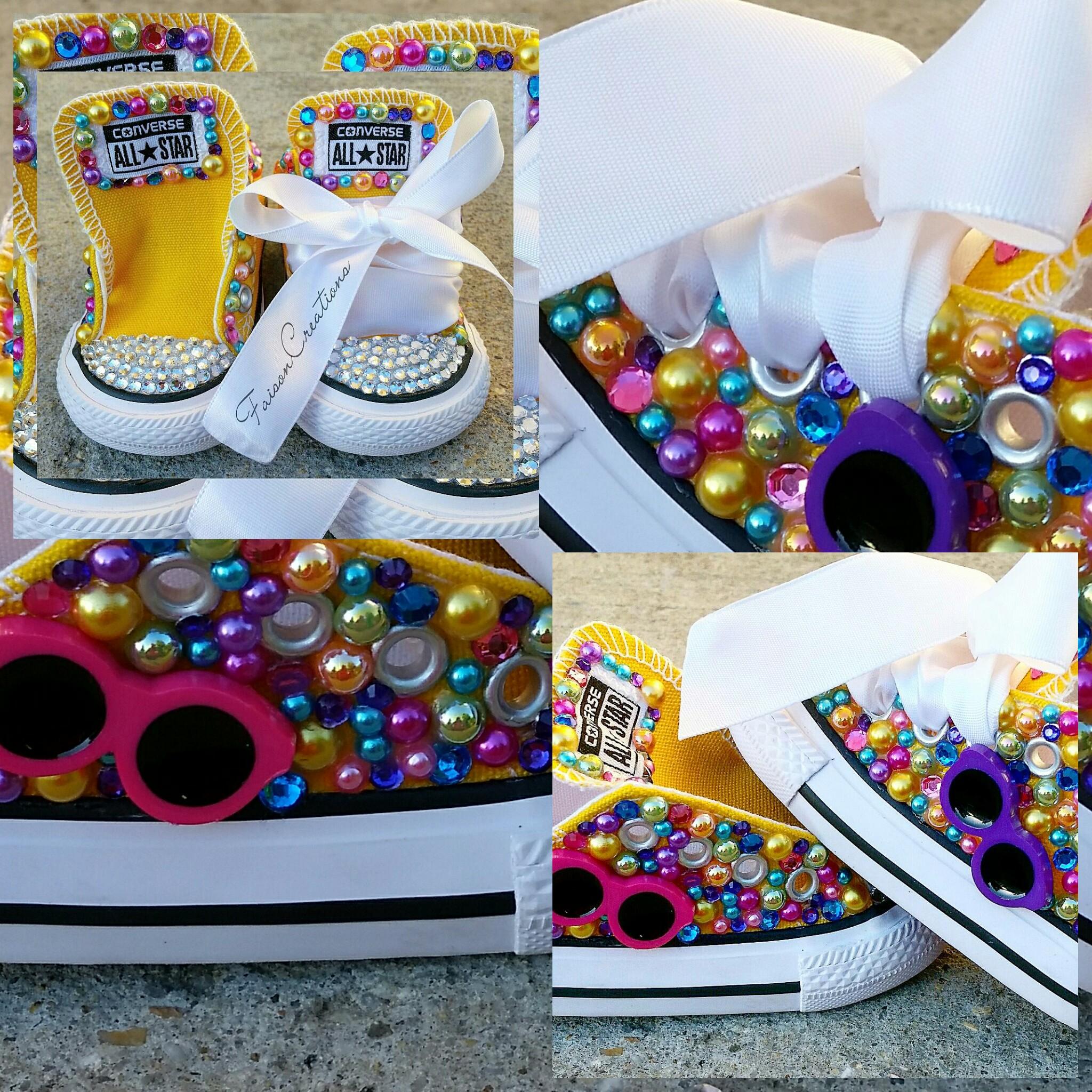 Custom Bling Converse (Infant Toddler Little Kids) on Storenvy 885f07194