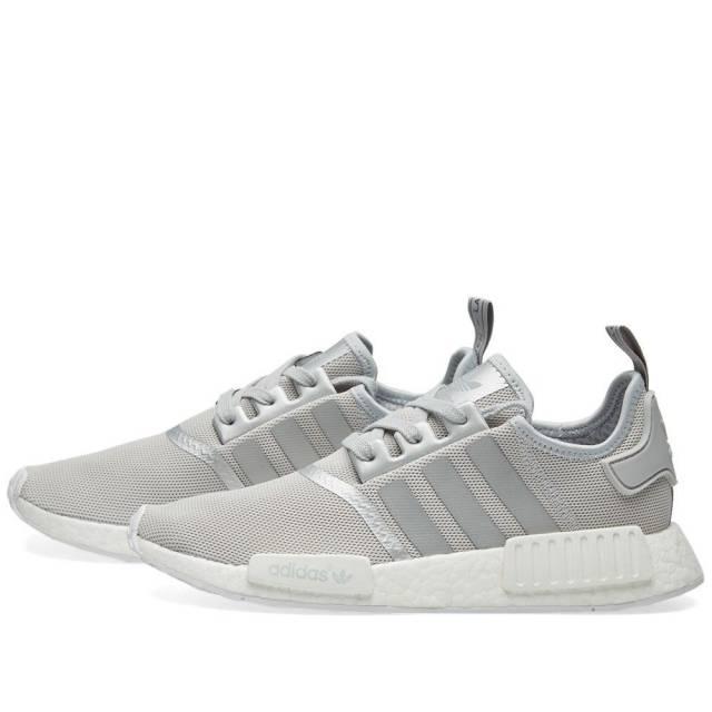 46405269c84ac Fashion nmd r1 raw gray silver women s casual shoes - Thumbnail 1 ...