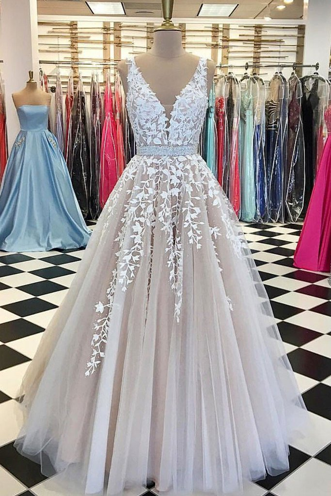 Charming Prom Dress,Tulle Ball Gown Prom Dresses,Formal Evening ...