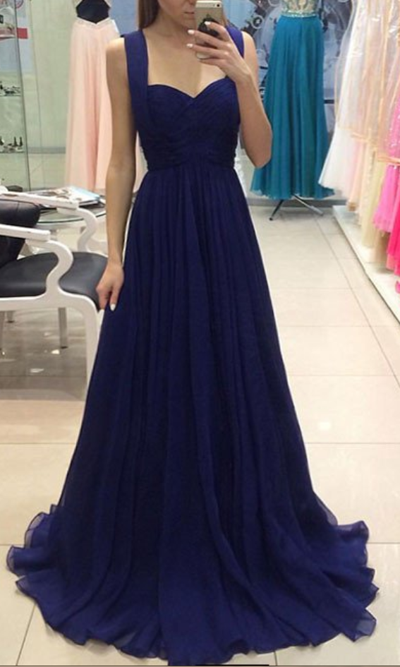 special selection of aesthetic appearance hot products Simple Elegant Navy Prom Dress, Prom Dresses For Teens,Graduation Party  Dresses, Sweet 16 Dresses from olesa wedding shop