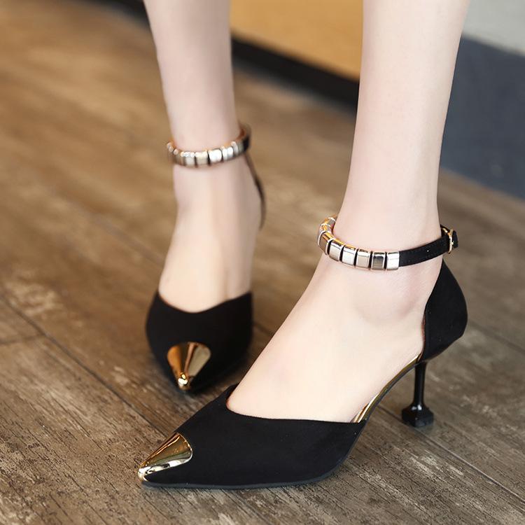 2017 New Fashion Women Pumps Shoes Sexy 16cm Thin Heels
