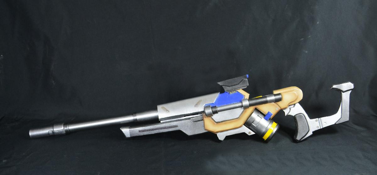Overwatch Ana Captain Amari Weapon Biotic Rifle Cosplay Replica Gun Buy  sold by OverCosplay