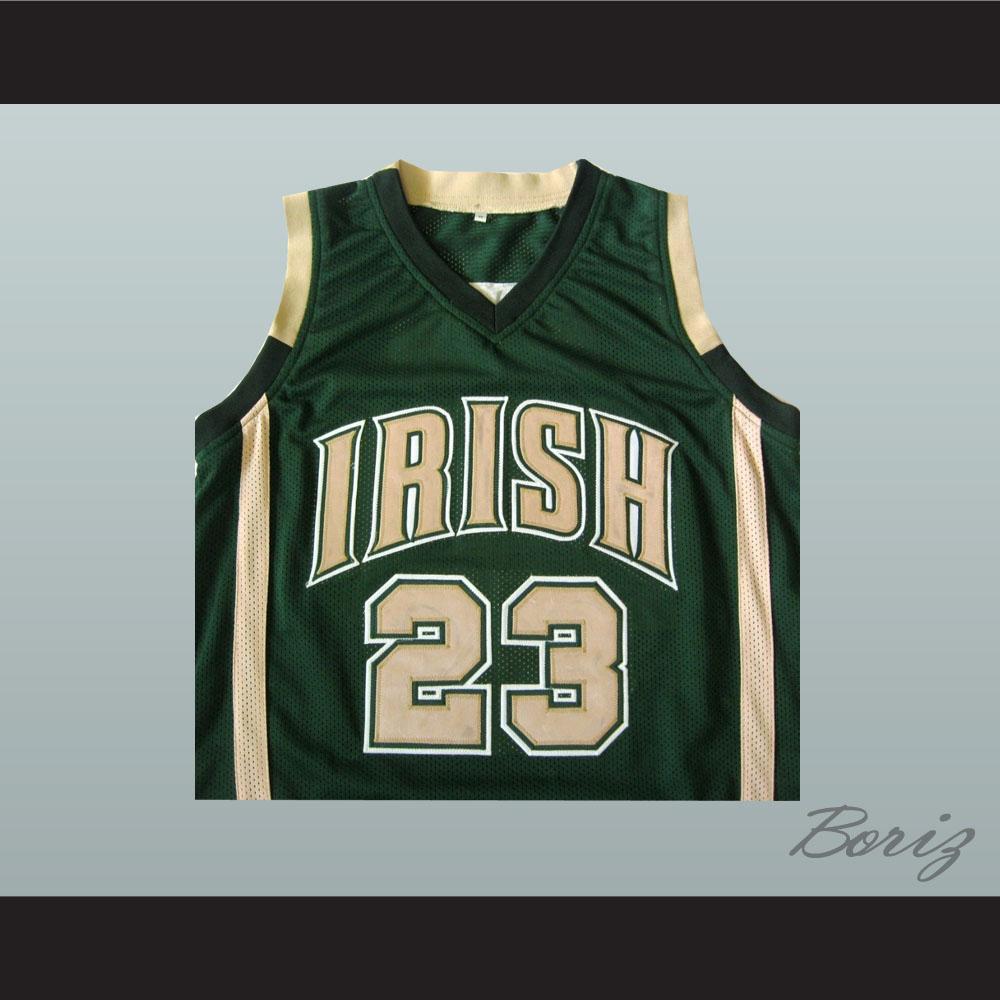 a837b16b5725 Lebron James High School Basketball Jersey Irish 23 Stitch All Sizes -  Thumbnail 1 ...