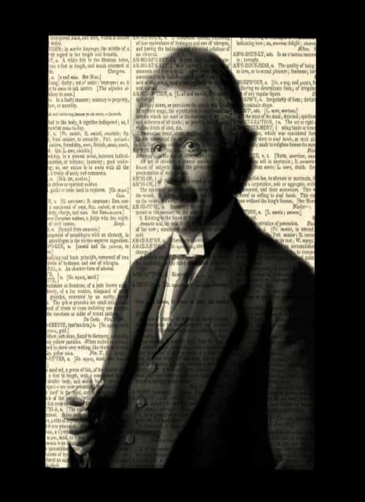 Albert Einstein Dictionary Print On Storenvy