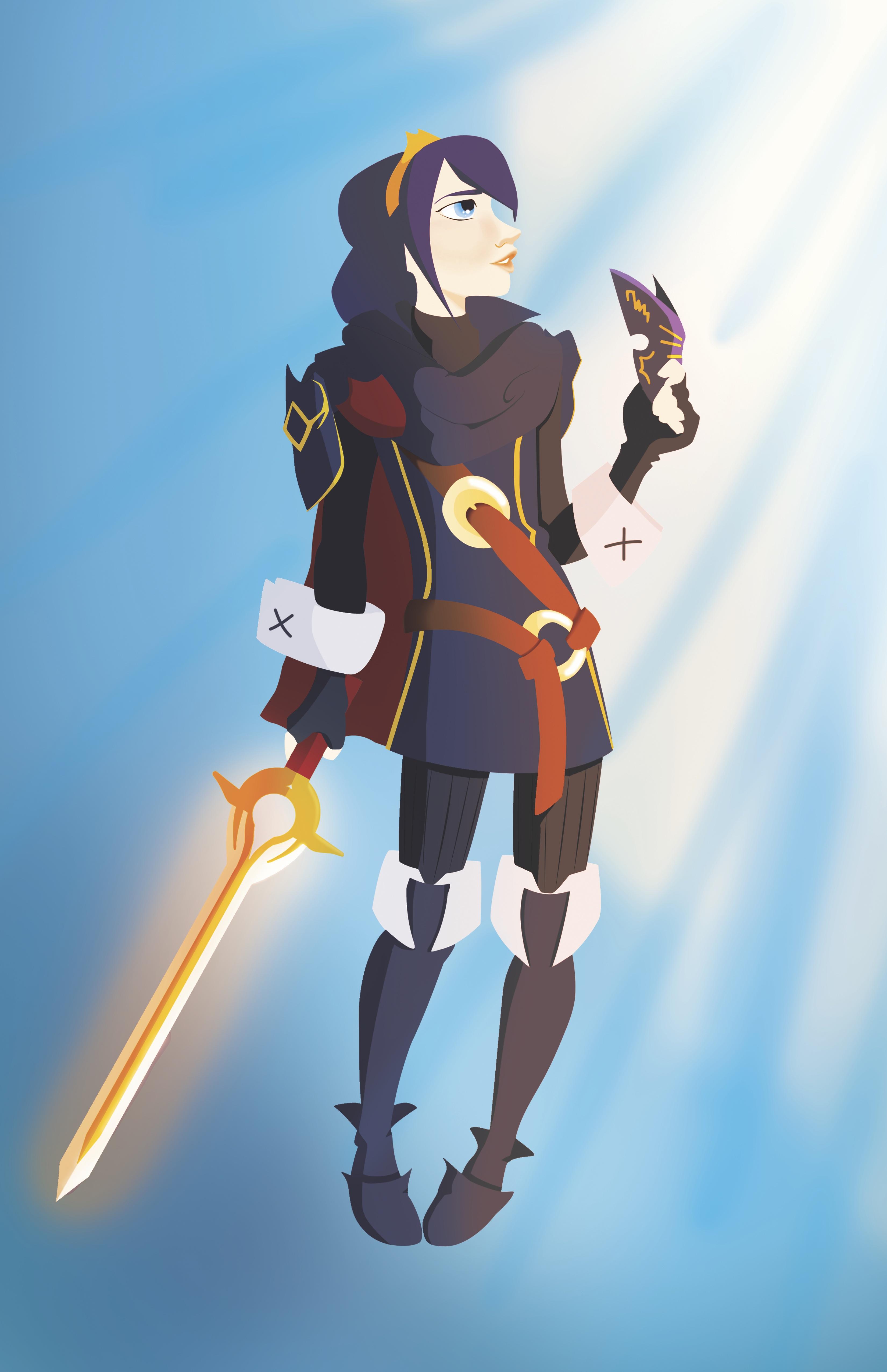 Lucina Fire Emblem Awakening 11x17 Print On Storenvy