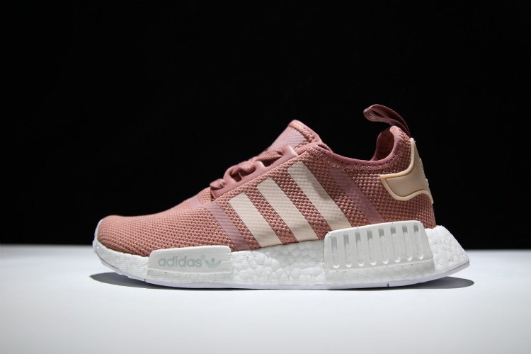 Adidas NMD R1 Boost Pink runner shoes on Storenvy 652882bc8cf3