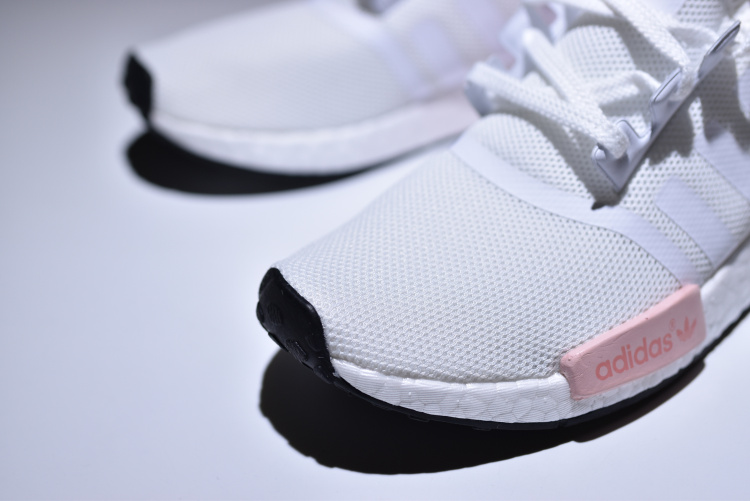 7c8a2baf0c1f1 ... Adidas NMD R1 Boost White pink runner shoes BY9952 - Thumbnail 2 ...