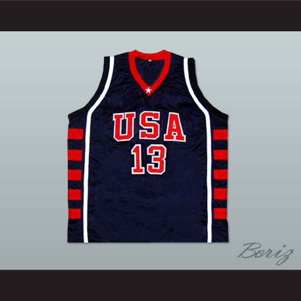 0613c56346d6 Tim Duncan USA Team Basketball Jersey New Any Size Online Tracking ...