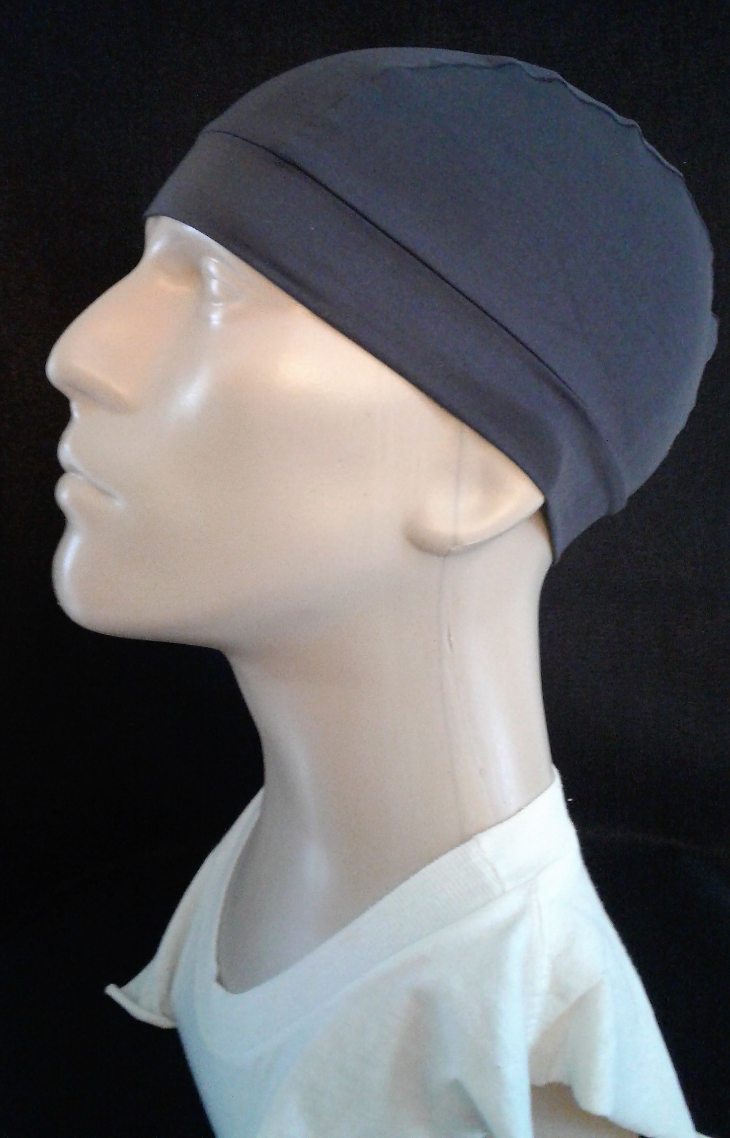 e7f9632e680 Charcoal Gray skull cap-Men · Pizzazz Hats · Online Store Powered by ...