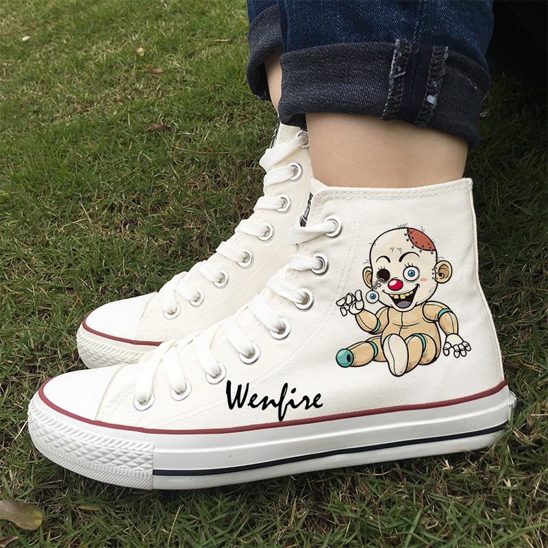 89e034fbe2f0 Wenfire Cartoon Cute Doll Dog Original Design Casual Shoes Unisex ...