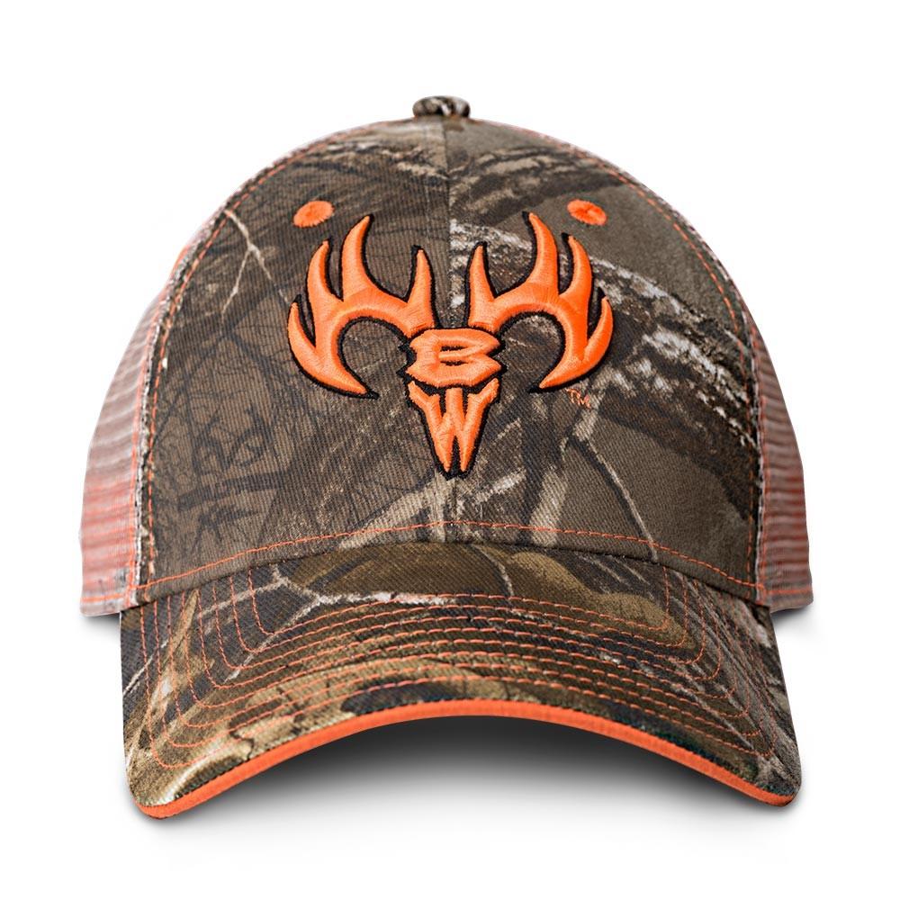 9089 buck wear orange brand camo hat original 8c4900ab607