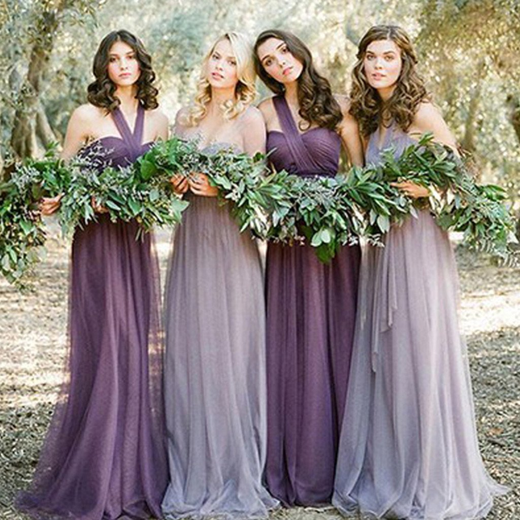 find lowest price best really cheap Tulle Convertible bridesmaid dresses, long bridesmaid dresses, cheap  bridesmaid dresses, custom bridesmaid dress, custom bridesmaid dresses,  17058 ...