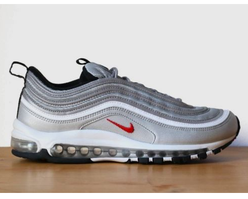 sale retailer 59a3a 755be Nike Air Max 97 OG QS Silver Bullet Turnschuhe Sneaker on St