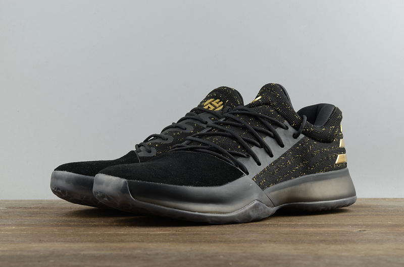5888e2c468ebb ... Fashion Adidas Harden Vol.1 Basketball Shoes Black Gold Men s Sport  Shoes BW0545 - Thumbnail