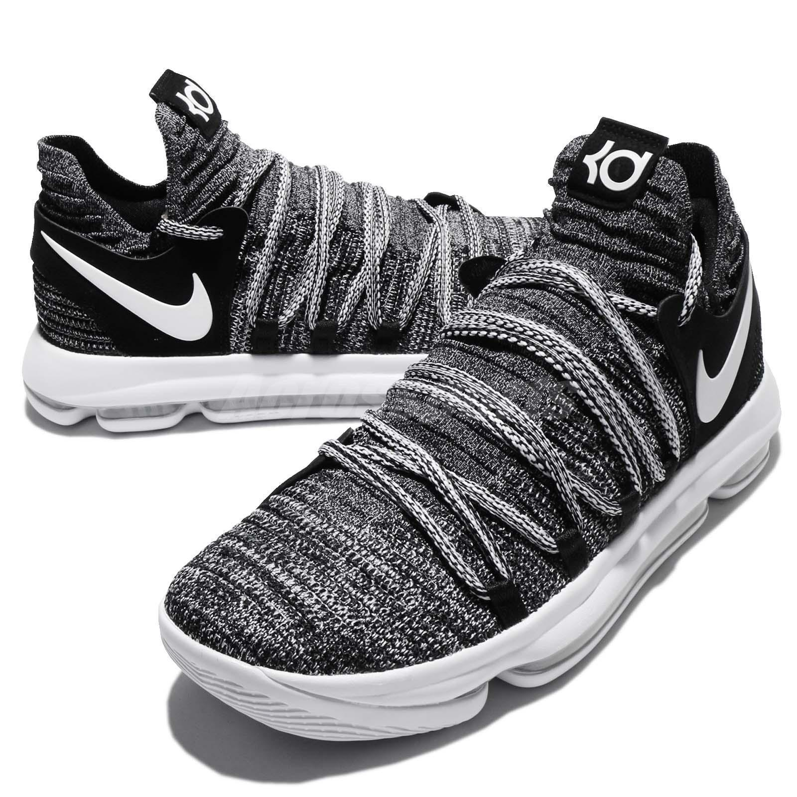 low priced d5496 1141c Nike Zoom KD 10 EP KDX Durant Fingerprint Oreo Black White Men XDR  897816-001 on Storenvy