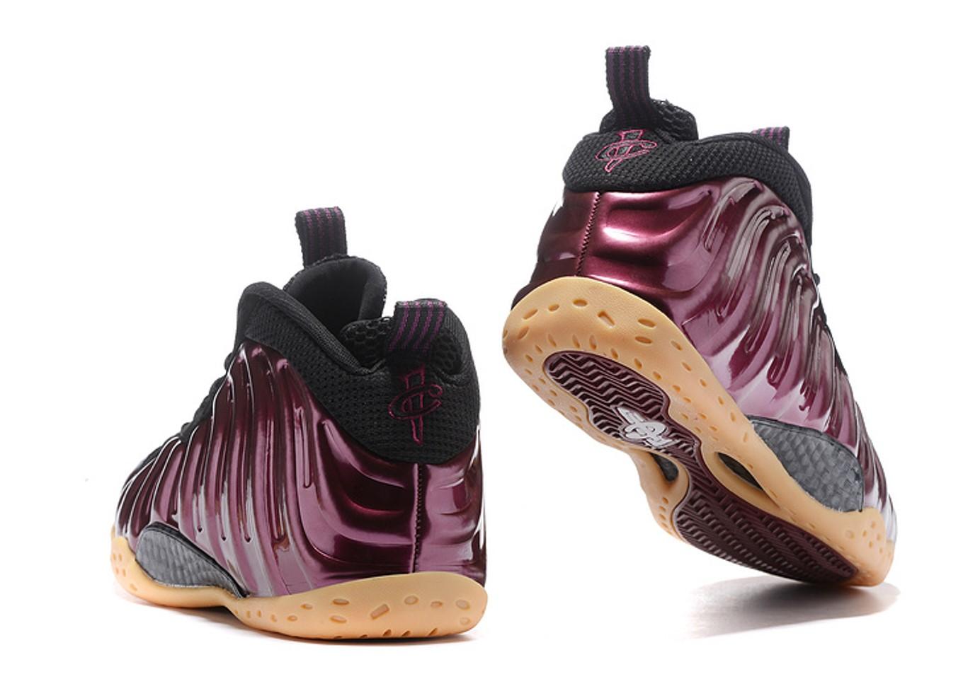 d52eb1315e2 Nike Air Foamposite One Night Maroon Gum Light Brown Black 314996 ...