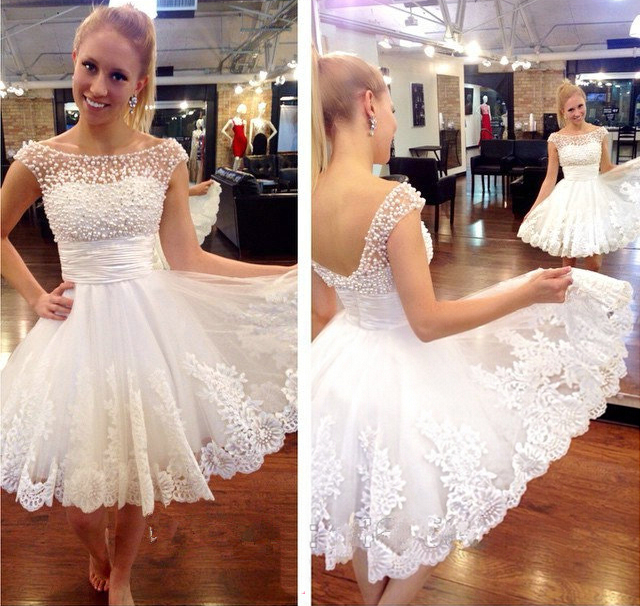 a64e6af3cbb J215 White homecoming dresses