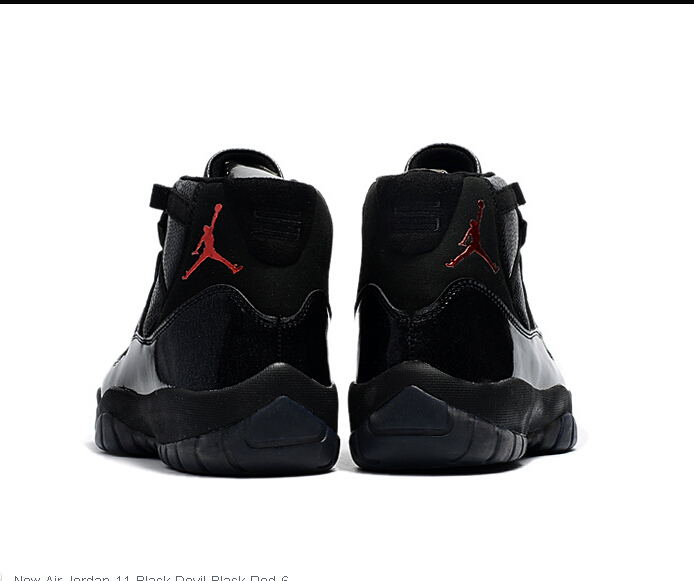 "info for 11746 7d89f 2017 Cheap Air Jordan 11 ""72-10″ Black Devil Custom For Sale on Storenvy"