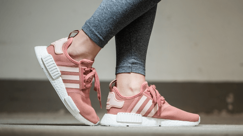 moda adidas nmd r1 materie prime donne scarpe storenvy rosa casual