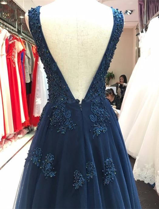 cb6c971c49f0 Open Your Own Store · Floor Length V-neck Prom Dresses