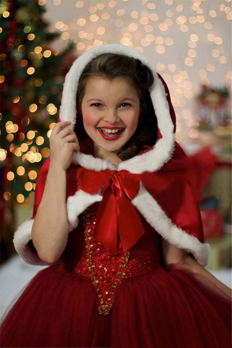 ... Kids FROZEN Princess Anna Elsa Queen Girls Cosplay Costume Red Party  Formal Dress  RC120D ... fb7080908025