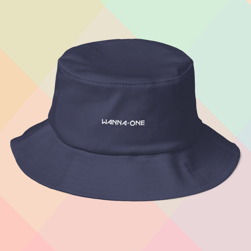 6df7fb62344 WANNAONE Embroidered Bucket Hat on Storenvy