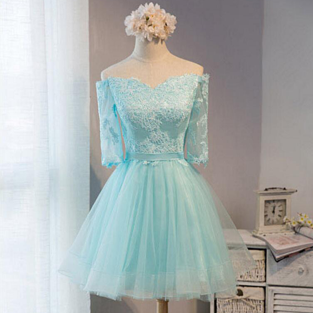 cb19ab61be6a Off shoulder homecoming dresses