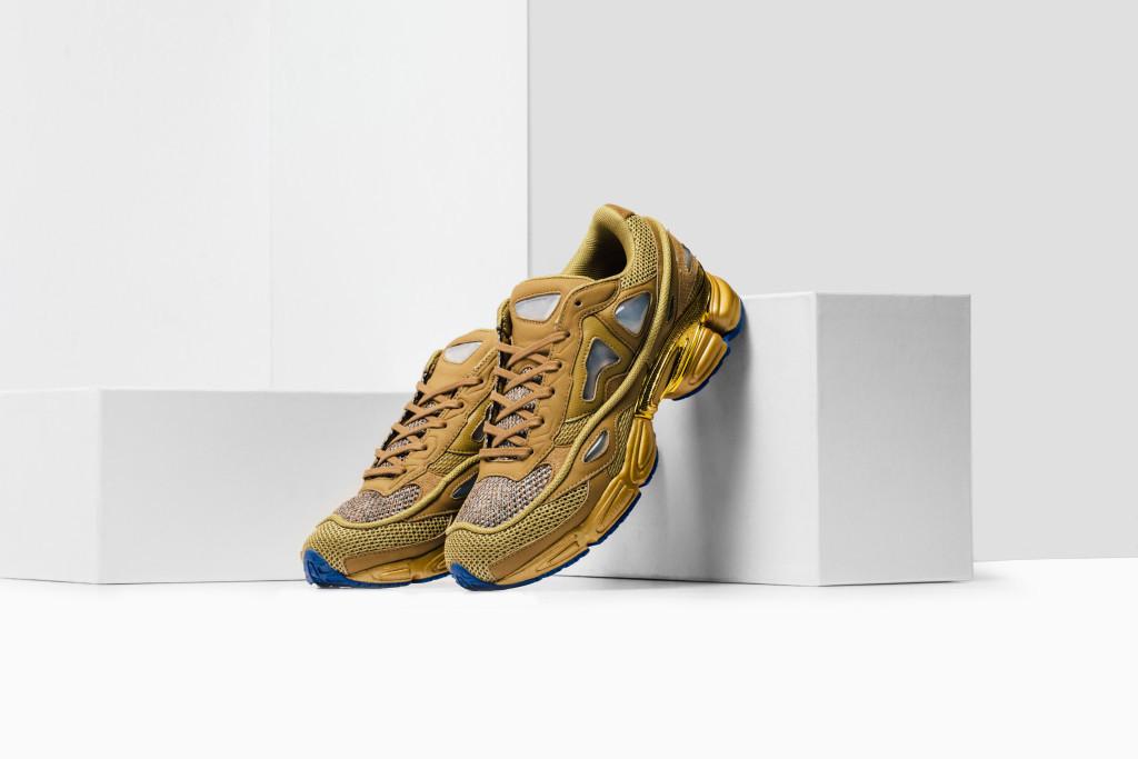"3d3dc4959ae3 Raf Simons x Adidas Consortium Ozweego 2 ""Khaki   Gold ..."