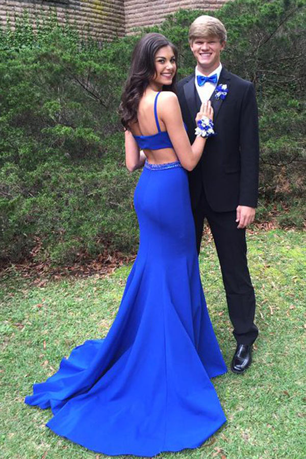 E178 Prom Gown,Royal blue Prom Dresses,Evening Gowns,Formal Dresses ...