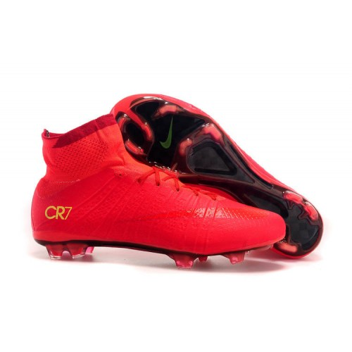 classic factory authentic discount Nike Mercurial Superfly CR7 FG Red sold by Cleats23A