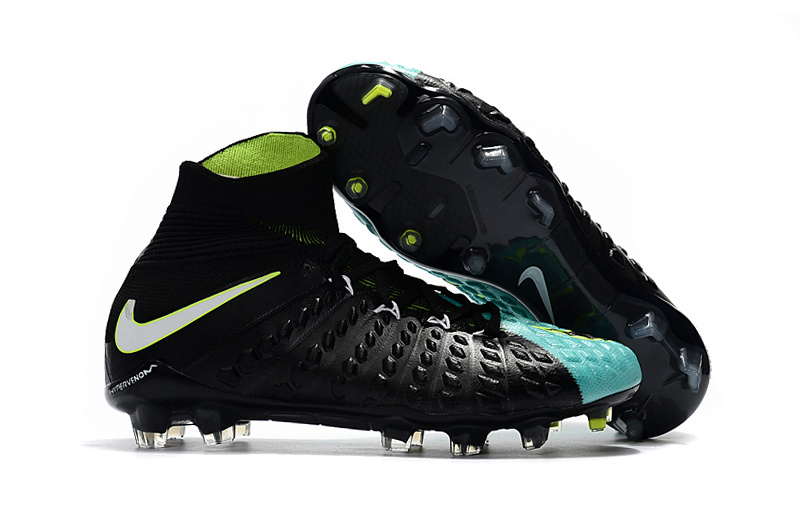 the best attitude 7f3c3 b11e7 Nike Cleats Hypervenom Phantom III DF FG Baby Blue Black White Green sold  by cleatssale4A