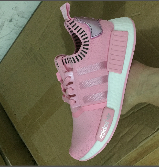 hot sale online 0affe 42f0f ADIDAS NMD R1 PINK RAW Raw Pink Rose Salmon Peach women shoes on Storenvy