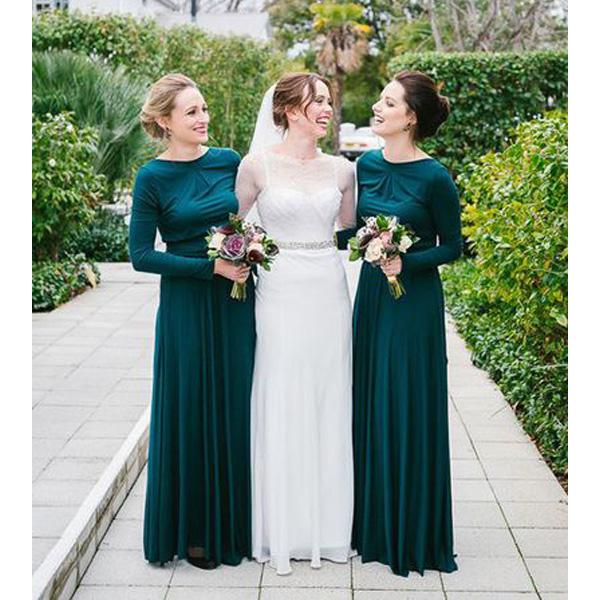 e10099ae28 Long bridesmaid dress