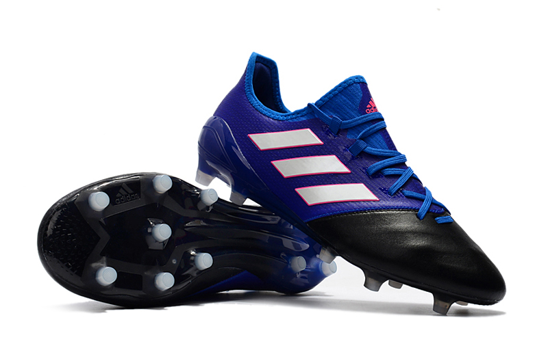 best service bbb4a 2f15a Cheap 20adidas 20cleats 20adidas 20ace 2017.1 20leather 20fg 20blue 20white  20black 840 original