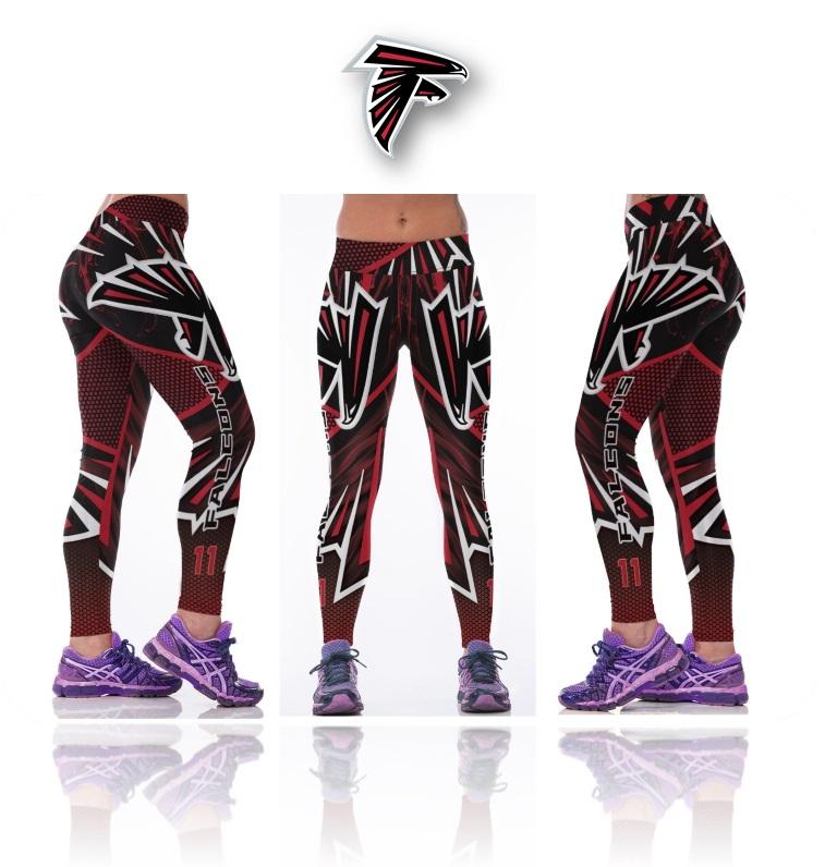 fa039ef9eac3b New Atlanta Falcons NFL Women Leggings Fitness Sports Gym ...